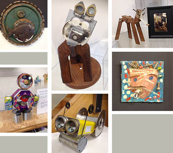 Reuse-Recycle-ReArt-Artists-Artwork-from found objects