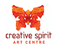 Creative Spirit Art Centre Butterfly logo