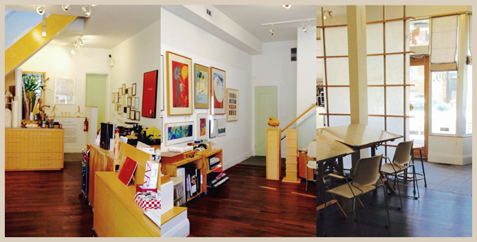 exhibition and studio space