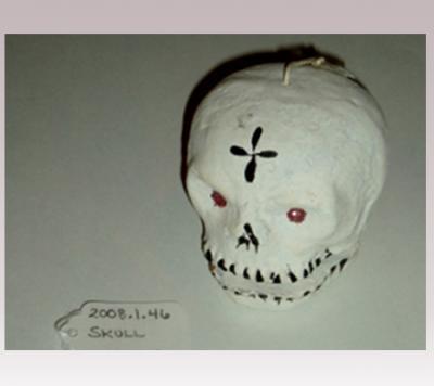 Hanni Sager, Skull, (Red Eyes)
