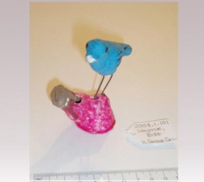 Hanni Sager, Bird Whistle, (Blue/Pink)