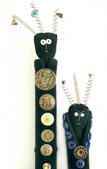 Hanni Sager, Cloth Dolls (detail)