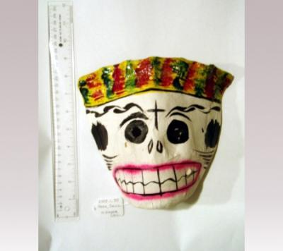 Hanni Sager, Mask Skull With Hat (Crown)