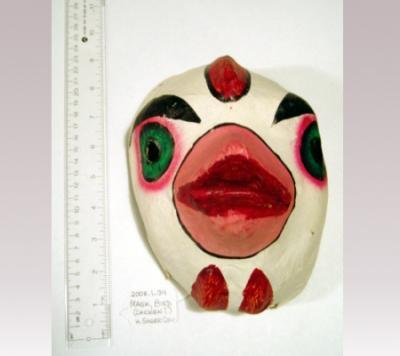 Hanni Sager, Mask White Bird, (Chicken?)