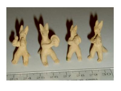 Hanni Sager, Miniature Musicians (Clay)